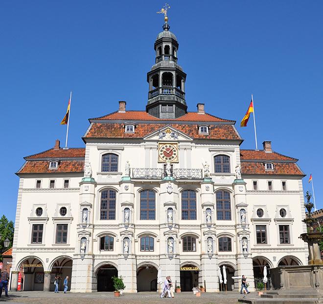 Eine Perle unter Deutschlands Rathäusern: das Alte Rathaus zu Lüneburg