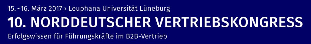 10. Norddeutscher Vertriebskongress 2017
